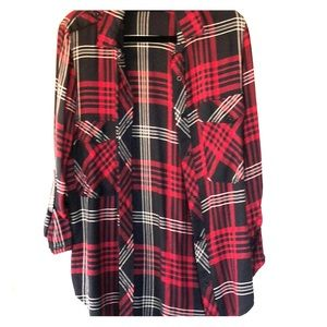Button down flannel from Zara in size XS